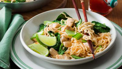 "Recipe:&nbsp;<a href=""http://kitchen.nine.com.au/2017/04/04/16/23/sweet-chilli-chicken-noodles"" target=""_top"" draggable=""false"">Sweet chilli chicken noodles</a>"