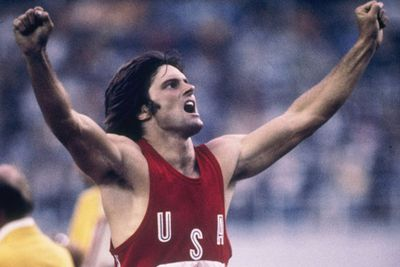 In 1976, a fresh-faced and super sporty Bruce Jenner celebrated his record-setting performance in the decathlon at the Summer Olympics... <br>
