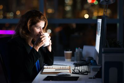 Avoid caffeine after midday