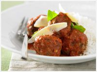 Meatballs in tomato sugo
