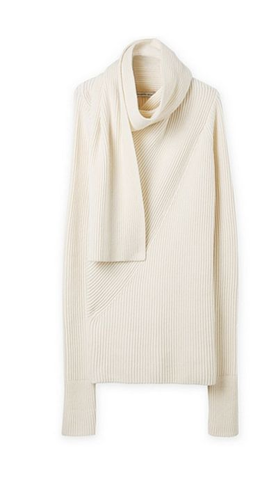 "<a href=""http://www.countryroad.com.au/product/60179129"">Scarf Neck Knit, $149, Country Road</a>"