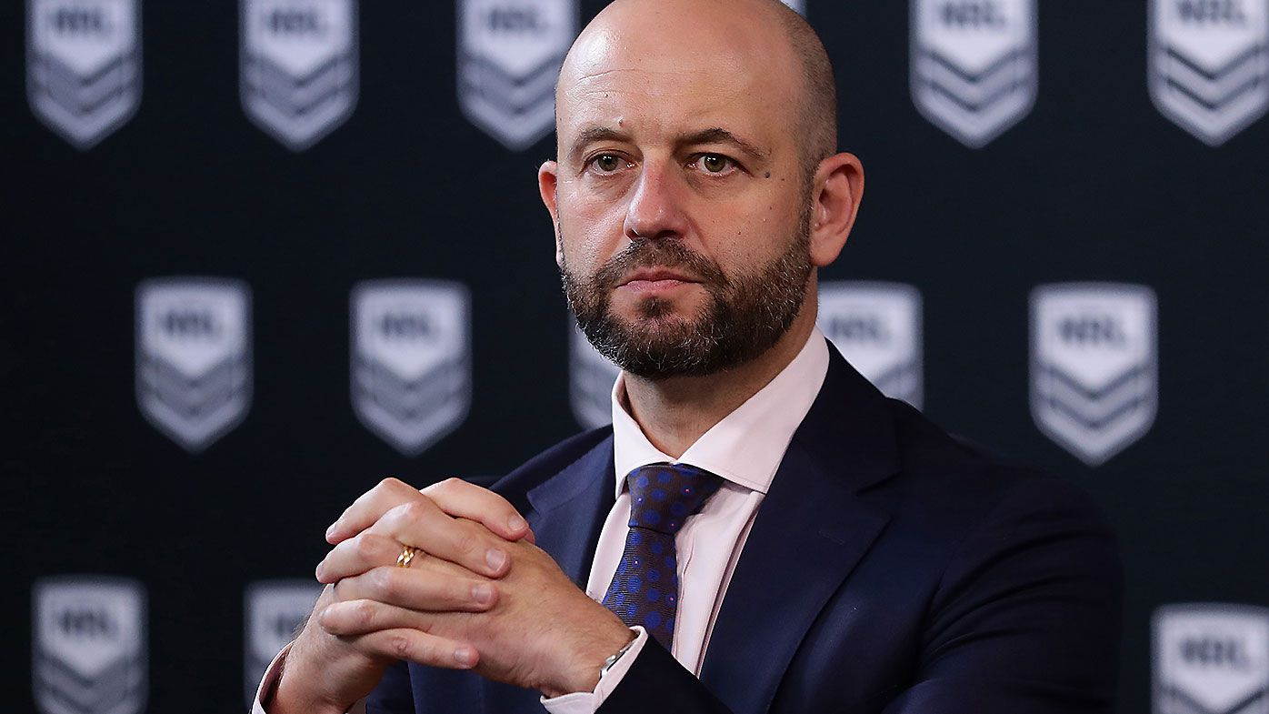 NRL CEO Todd Greenberg set to take same pay cut as the players