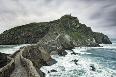 <strong>Island of Gaztelugatxe, Spain</strong>