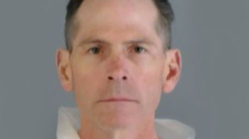 Scott Ostrem was arrested after three people were shot at random inside a US Walmart. (Thornton Police Department)