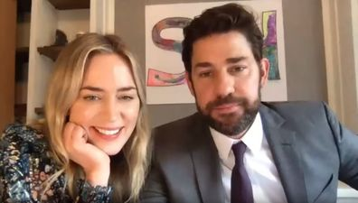 John Krasinski, Emily Blunt, surprise Hamilton fan, YouTube, coronavirus