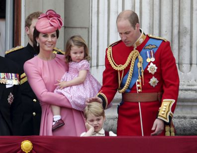 The adorable moment Prince George channelled Prince Charles