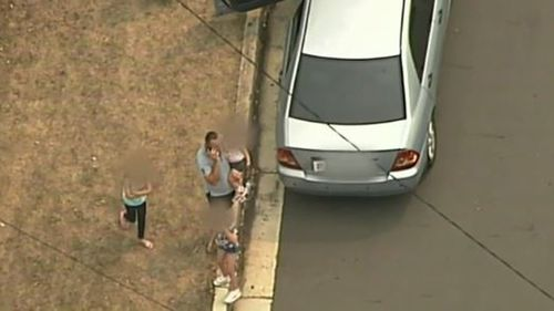 The children were found safe not far from where they were reported missing.