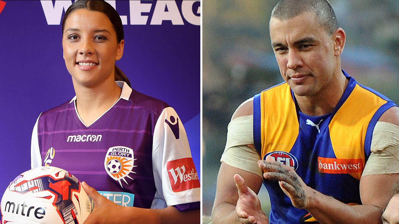 Former AFL star Daniel Kerr wants sister Sam to play AFLW with West Coast Eagles