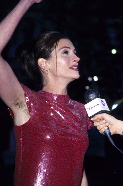 Actress Julia Roberts at the <em>Notting Hill</em> London Premiere in 1999