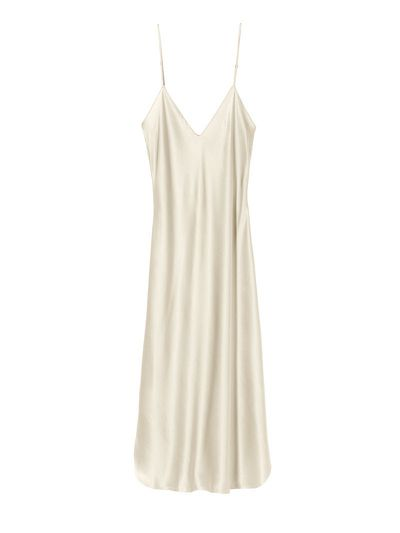"<em><a href=""https://www.modaoperandi.com/hensely-r18/shoulder-strap-column-dress"" target=""_blank"">Hensely Shoulder Strap Column Dress $2,907</a></em>"