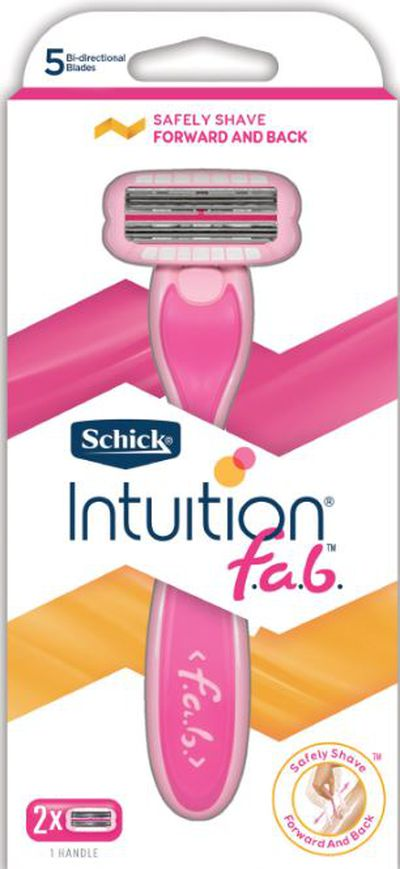 "<p>The key to smooth, flawless legs, Teigen-style? This revolutionary razor will become a staple in your overnight bag during the warmer months.</p> <p>Schick Intuition f.a.b. &ndash; meaning forwards and backwards &ndash; lets you shave without lifting the razor from the skin. The top blades shave up and bottom blades shave down, for one continuous action.</p> <p><a href=""https://www.priceline.com.au/schick-intuition-f-a-b-razor-2-blades-1-kit"" target=""_blank"" title=""Schick Intuition f.a.b razor + 2 blades 1 Kit, $15.99"" draggable=""false"">Schick Intuition f.a.b razor + 2 blades 1 Kit, $15.99</a></p>"