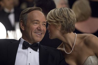 It's the Netflix web series that crossed over to become a cult hit… and it's back for season three in 2015.<br/><br/>In the season two finale, power-hungry Frank Underwood (Kevin Spacey) was sworn in as the 46th President of the United States. It's only uphill from here, right? <i>House of Cards</i> will air on Foxtel's showcase channel next year.<br/><br/>Image: Netflix