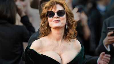 Susan Sarandon's cleavage has and always will be the MVP of Cannes