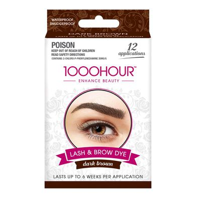 Be your own brow and lash lady