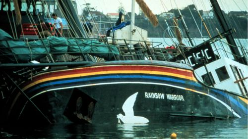French naval diver who bombed the Rainbow Warrior apologises