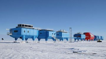 The Hally VI Research Station will close over winter for the first time in its history. (Source: BAS)