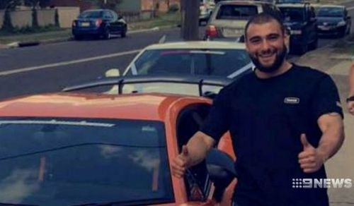 Hassan Rizk, 24, was stabbed in the stomach by a runaway offender who had carjacked multiple vehicles and crashed them into others across a number of suburbs.