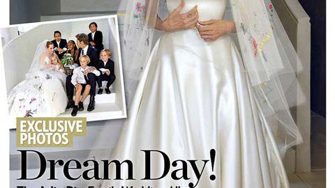 Brangelina's wedding photos have landed