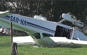 Pilot injured after plane crashes in Bendigo, Victoria