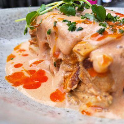 Brisbane restaurant drops butter chicken lasagne
