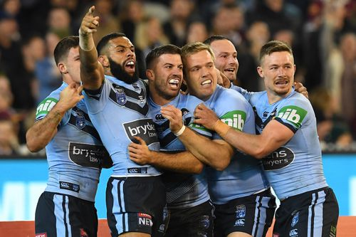 This year's series marked new names, fresh talent and a debutant experiment for the Blues. Picture: AAP.