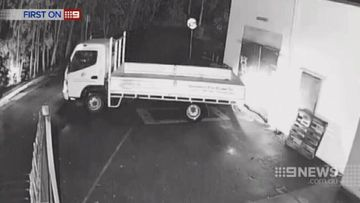 VIDEO: Logan thieves use stolen truck in ram raid
