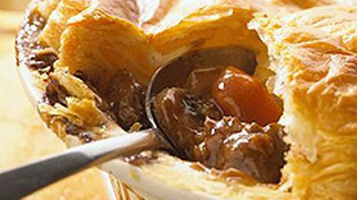 "Nothing as Aussie as a meat pie, so try our recipe for&nbsp;<a href=""http://kitchen.nine.com.au/2016/05/19/12/34/the-healthy-meat-pie"" target=""_top"">The healthy meat pie</a>"