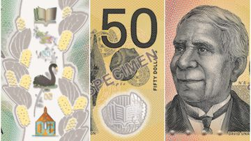 First look at 'next generation' $50 note