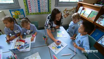 Thousands of youngsters start kindergarten