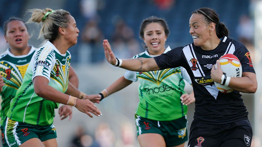 New Zealand's Honey Hireme stars as Kiwis thrash Cook Islands in women's Rugby League World Cup