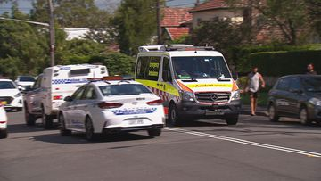 A man has been injured in a chainsaw accident in Chatswood West.