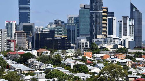 Rental prices in Brisbane have stayed reasonably level in the past year.
