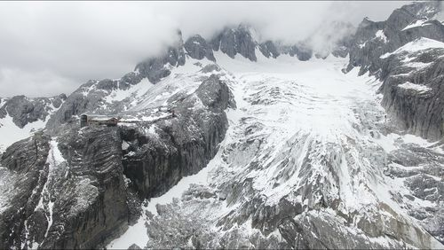 The teams of researchers monitoring the Baishui No.1 glacier want to educate visitors on the dire future it has if climate change continues.