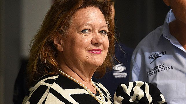 The richest woman living in Australia launched the multi-million dollar bid on Sunday with deal partner Shanghai CRED. (AAP)