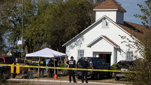 Only about 600 people live in Sutherland Springs, 26 of which were killed in the massacre.