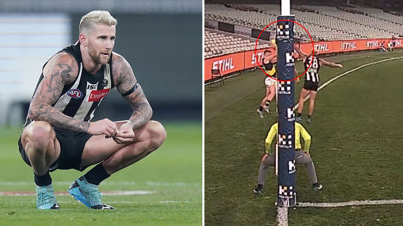 Score review controversy reigns supreme in drawn thriller between Collingwood and Richmond