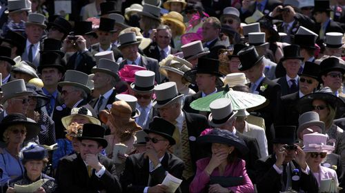 The dress code at the Royal Ascot is strictly enforced. (Getty)