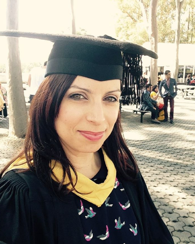 Jo Abi uni graduation