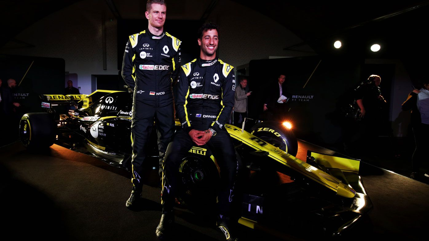 Daniel Ricciardo's Renault F1 livery revealed, Aussie discusses new team vs Red Bull