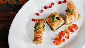 Somer Sivrioglu's Gaziantep style traditional pistachio baklava