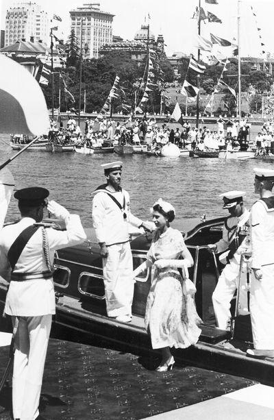 Arriving in Sydney, February 3, 1954