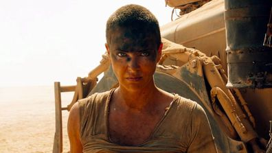 Charlize Theron in Mad Max.