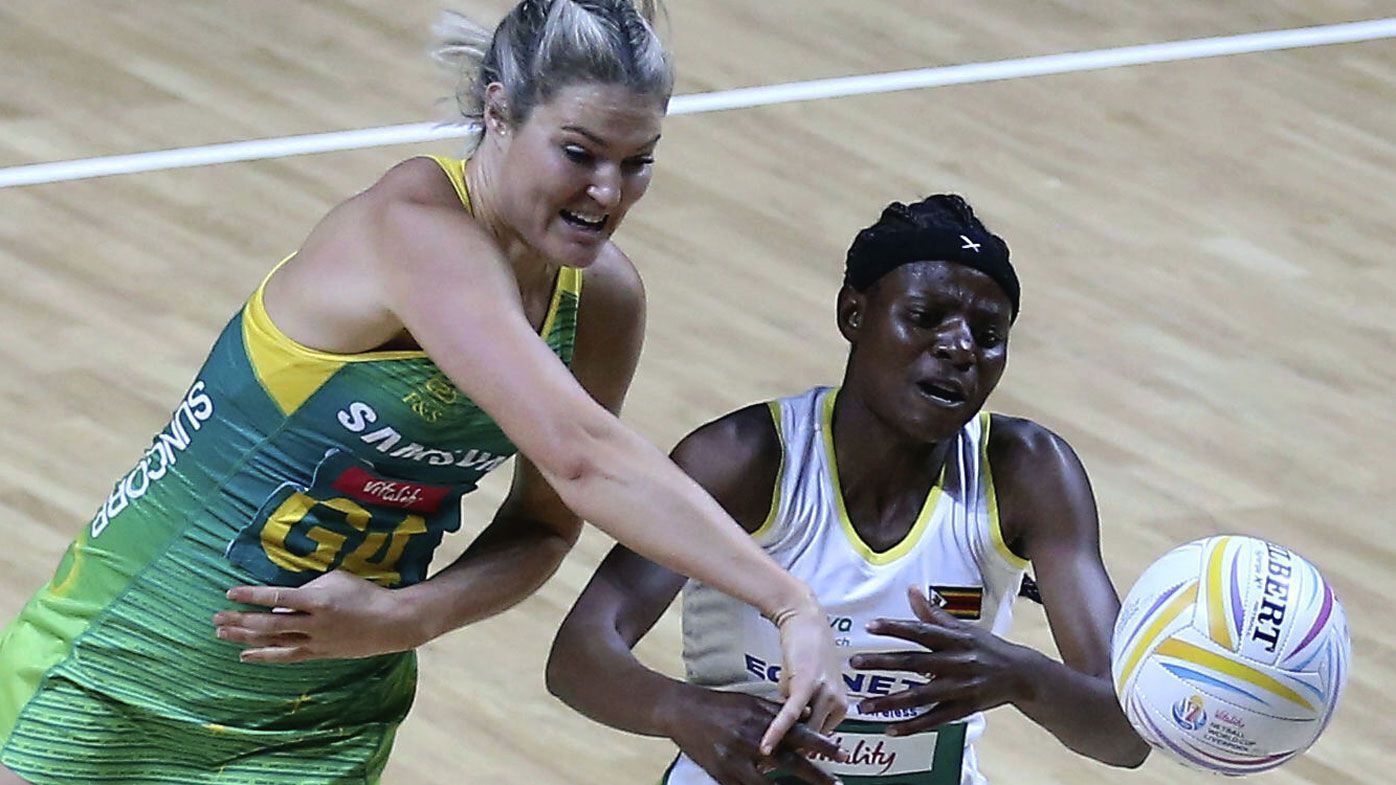 Aussie Diamonds continue World Cup domination, crushing Zimbabwe in second match