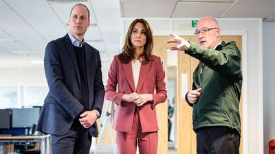 William and Kate visit NHS workers during COVID-19 pandemic