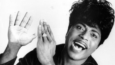 "This 1966 file photo shows Little Richard. Tthe self-proclaimed ""architect of rock 'n' roll"" whose piercing wail, pounding piano and towering pompadour irrevocably altered popular music while introducing black R&B to white America, has died Saturday, May 9, 2020."