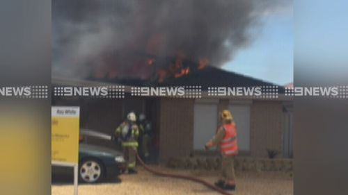 House gutted by fire in Adelaide's northern suburbs