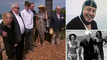 Harold Holt's family gather to mark 50 years since PM's disappearance