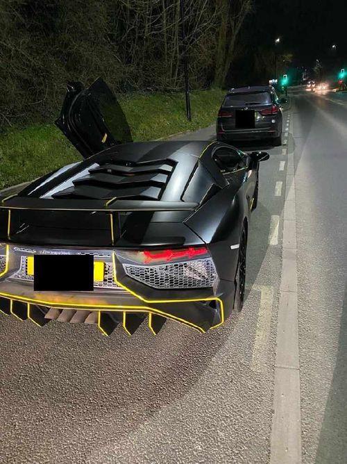 Impounded Lamborghini