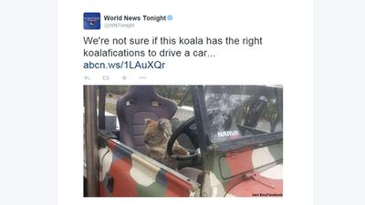 This pun was a favourite among most social media users. (Twitter, @WNTonight)