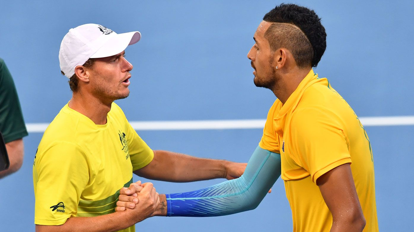 Nick Kyrgios to team up with Lleyton Hewitt at Queen's doubles